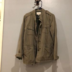 NORDSTROM military jacket (green)
